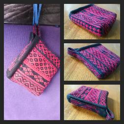 Small purse made from offcuts.